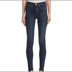 Rag and Bone High Rise skinny sz28